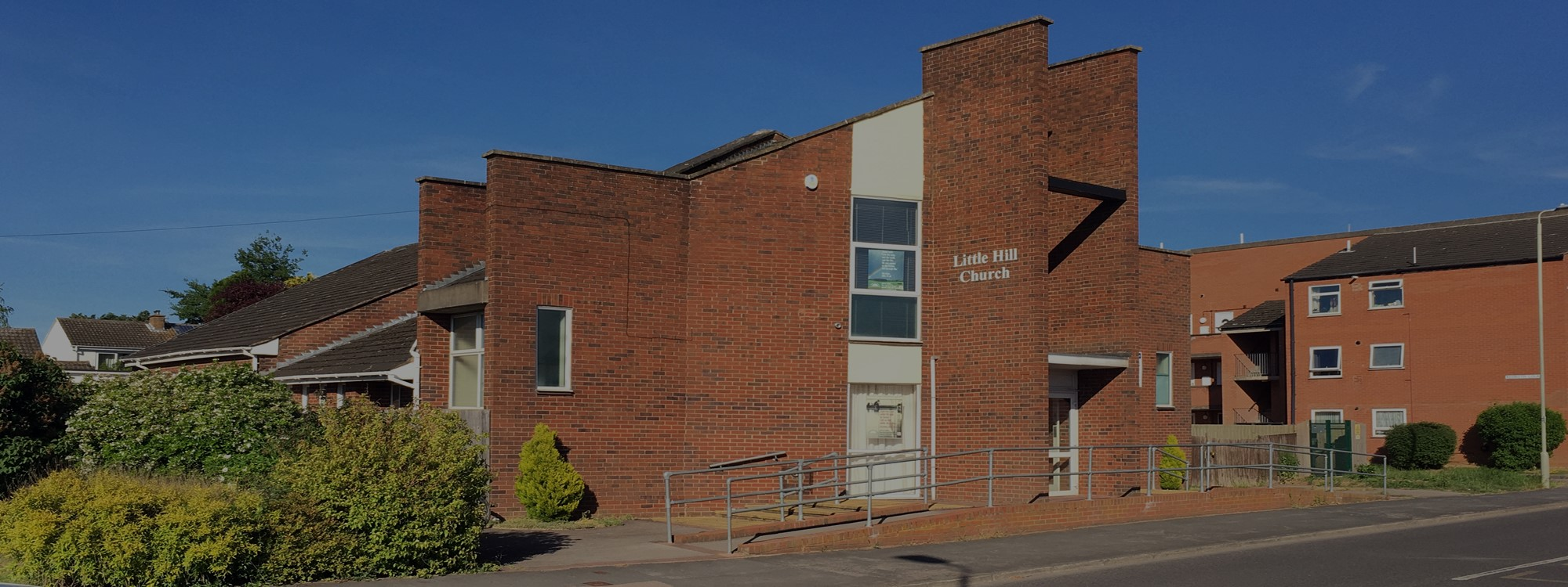 Little Hill Church*Launceston Road, Wigston, Leicester, LE18 2GZ*Weekly meetings view